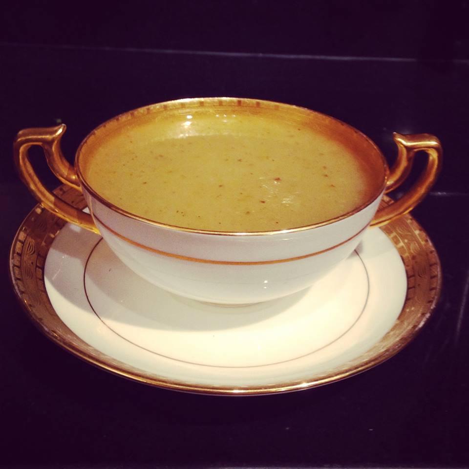 Green Apple & Onion Soup