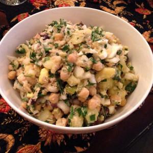 Laurinda Silva's Portuguese Potato Salad With Tuna 2