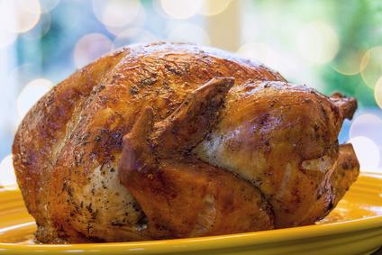 Roast Turkey With Spicy Rub