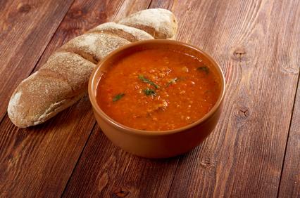 No-Cook Tomato Basil Soup
