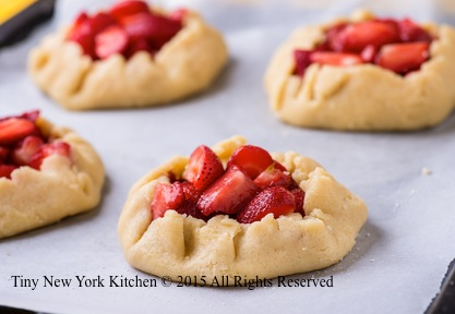 Mini Strawberry Galettes