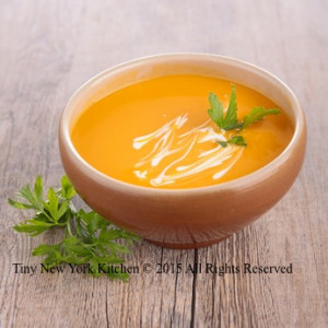 Bowl of Curry Carrot Soup