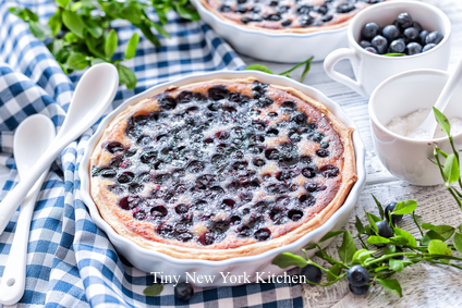 Buttermilk Blueberry Cake - Tiny New York Kitchen