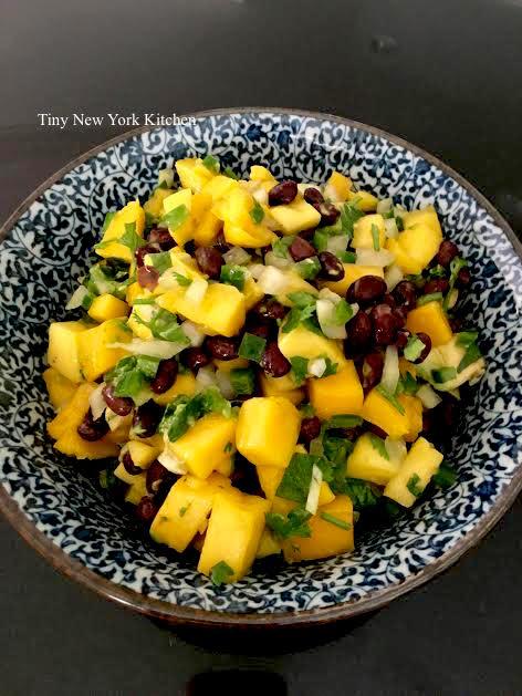 Camille's Jalapeño Mango Salad