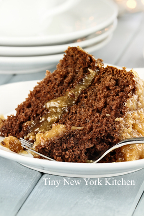 Dallas Morning Star German Chocolate Cake