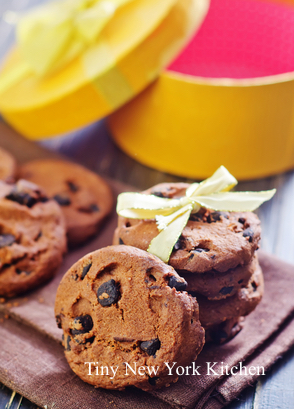 Triple Espresso Chocolate Cookies