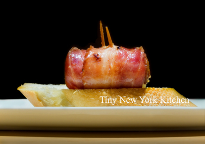 Bacon Wrapped Smoked Sausages