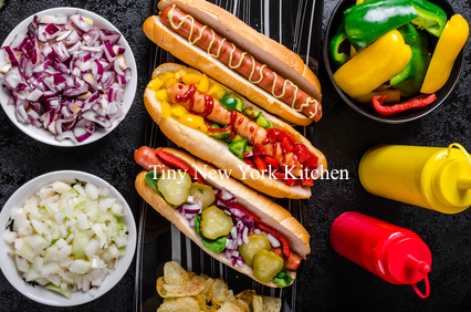 Hot Dogs 8 Ways