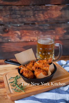 Low-Fat Crunchy Oven-Fried Chicken