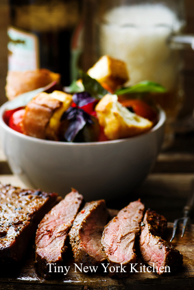 Grilled & Chilled Flank Steak