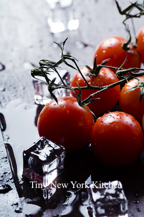 Vodka Infused Cherry Tomatoes
