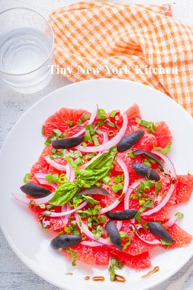Mediterranean Grapefruit Salad