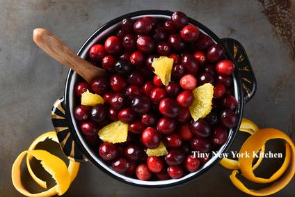 Four Ingredient Cranberry Sauce