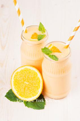 Orange & Cream Milkshake