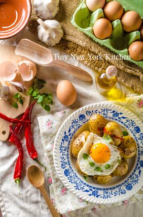 Potato, Linguica & Corn Hash