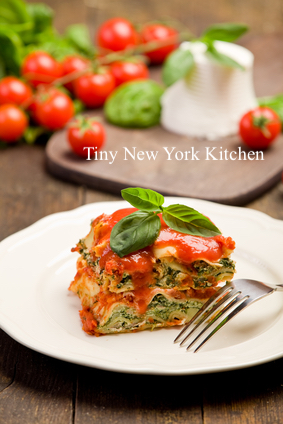 Gluten-Free Lasagna With Spinach
