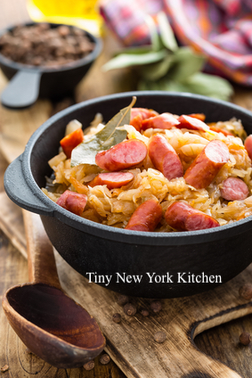 Sauerkraut & Sausage Stew