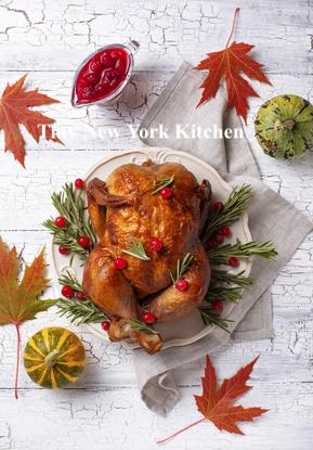 Roast Turkey With Sage, Orange & White Wine