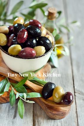 Warm Marinated Olives