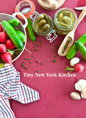 Pickled Radishes & Cucumbers