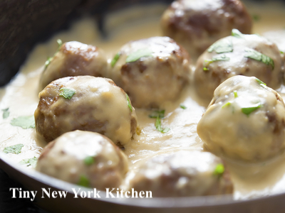 Bison Swedish Style Meatballs
