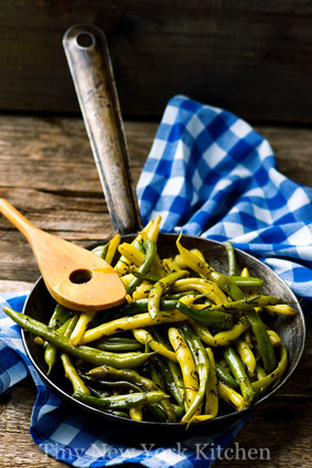 Fried Green Beans With Garlic