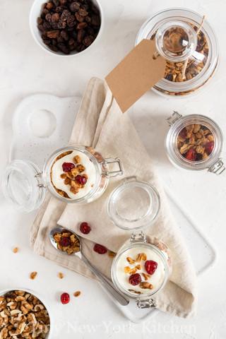 Homemade Instant Oatmeal Jars