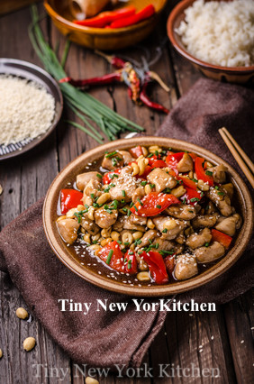 Healthier Kung Pao Chicken.