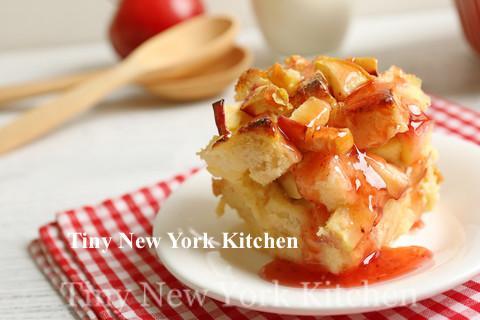 Apricot Jam Bread Pudding copy