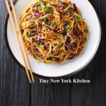 Chilled Noodle Salad With Sriracha Peanut Sauce copy