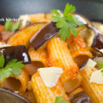 Rigatoni With Eggplant & Feta