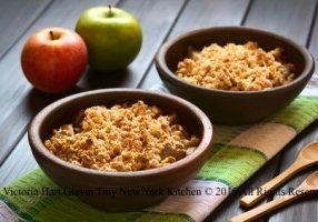 Super Easy Apple Crisp