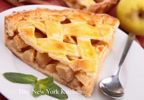 Apple Pear Ginger Pie