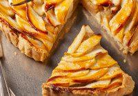 Apple Tart With Apricot Glaze