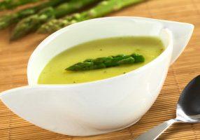 Asparagus & Pea Soup