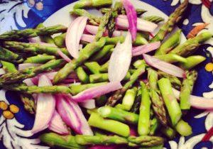 Asparagus & Shallot Salad