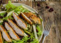 Autumn Apple & Cranberry Salad