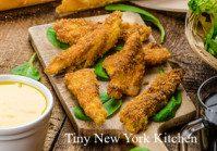 Baked Mustard Chicken Tenders