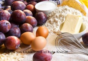 Baking With Plums