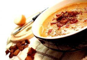 Beer & Cheddar Soup
