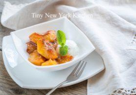 Caramelized Peaches