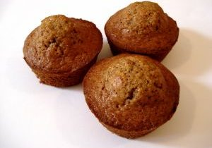Carrot Oat Muffins