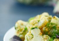 Cauliflower With Herbs & Bread Crumbs
