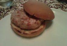 Chicken Asiago Burger