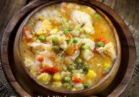 Chicken & Barley Stew