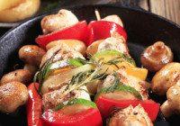 Zesty Chicken Kebabs