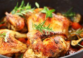 Chicken With Provençal Vegetables