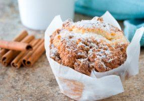 Gluten-Free Cinnamon Raisin Muffins