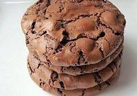 Classic Chocolate Brownie Cookies