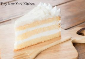 Coconut Layer Cake With Coconut Buttercream Frosting
